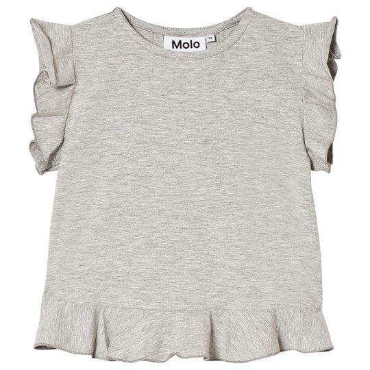 Molo Rabia T-shirt Light Grey Melange Light Grey Melange