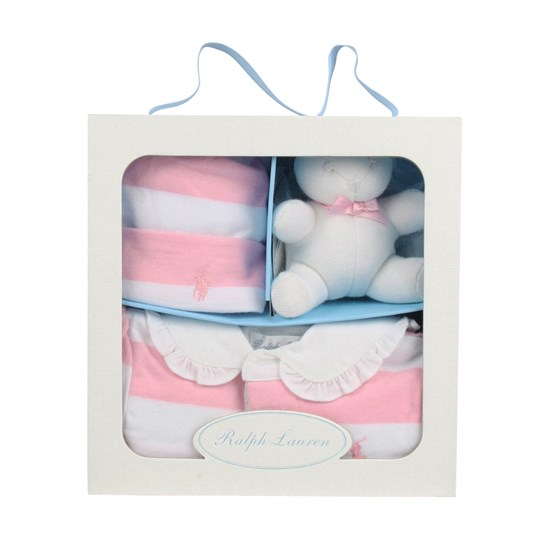 Ralph Lauren Girl Rugby Gift Box Pink Pink