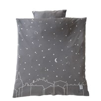 Littleheart Under the Same Sky Bed Set for Pram/Basket Musta