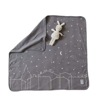 Littleheart Under the Same Sky Blanket Black