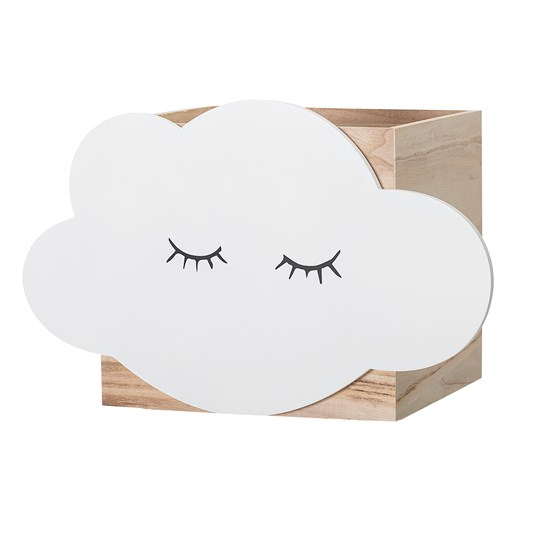 Bloomingville Cloud Storage Box Paulownia White