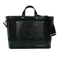Young Versace Black Medusa Embossed Branded Changing Bag YSN1O