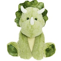 Teddykompaniet Sitting Dino Small Green