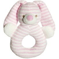 Teddykompaniet Cotton Cuties Rattle Pink Pink
