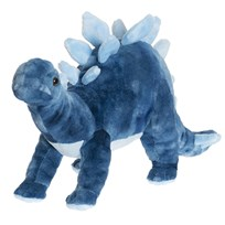 Teddykompaniet Blue Teddy Dino Large Blue
