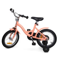 "STOY 14"" Speed Bicycle Peach Pink"