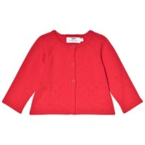Cyrillus Red Cotton Cardigan 6689