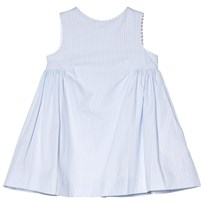 Cyrillus Blue and White Stripe Party Dress 6388