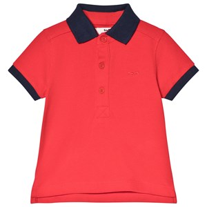 Cyrillus Red Polo Shirt 24 months