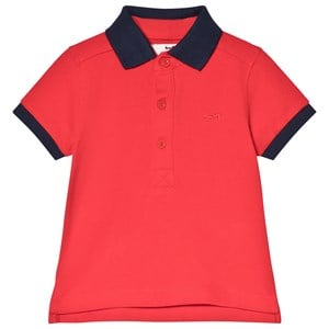 Cyrillus Red Polo Shirt 12 months