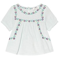 Cyrillus Pale Green Embroidered Blouse 6709