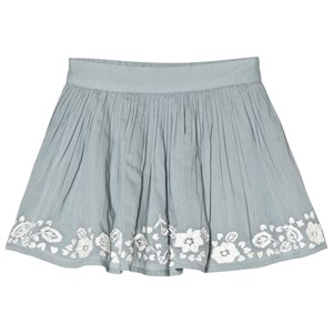 Image of Cyrillus Blue Embroidered Skirt 3 years (2979333131)