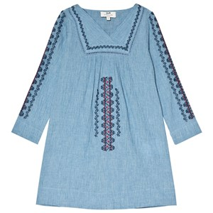 Image of Cyrillus Blue Embroidered Tunic 10 years (3019784225)