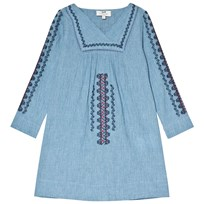 Cyrillus Blue Embroidred Tunic 6409