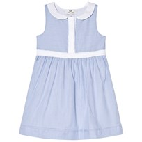 Cyrillus Blue and White Dress 6388