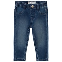 Levis Kids Blue Mid Wash Pull Up Jeans 46