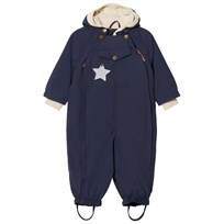 Mini A Ture Wisto Coverall Navy Marinblå