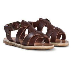Ancient Greek Sandals Little Leonidas Sandaler Chestnut
