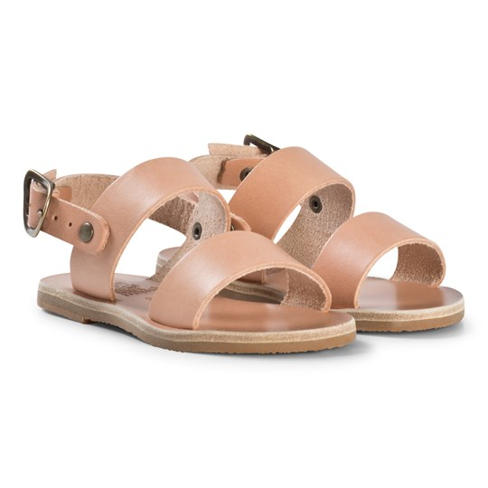 Ancient Greek Sandals Little Clio Sandals Natural Natural