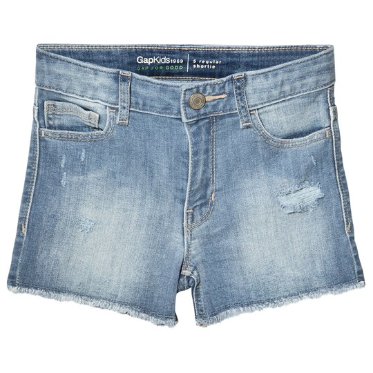 GAP Light Blue Denim Shorts Light Denim