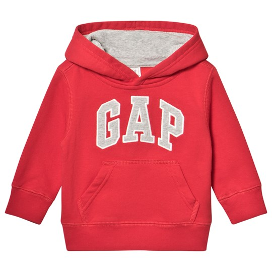 GAP Red Wagon Logo Active Hoodie RED WAGON