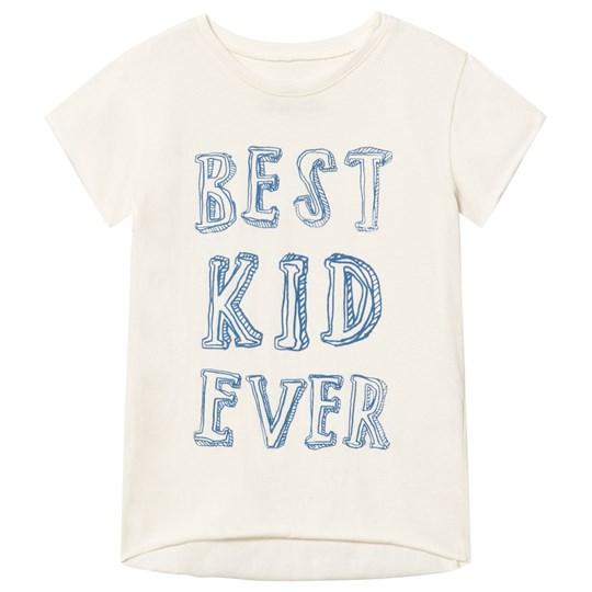 Noe & Zoe Berlin Off White Best Kid Ever Tee BEST KID EVER