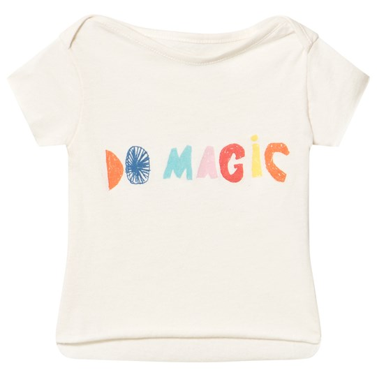 Noe & Zoe Berlin Do Magic Infant T-shirt Off White DO MAGIC