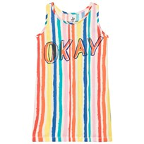 Noe & Zoe Berlin Multi Coloured Striped Okay Tank Dress MULTIKULTI