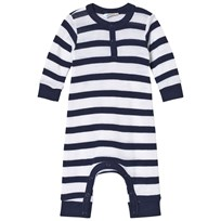 Joha Marine Stripe One-Piece Blue and White Marine stripe