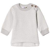 Joha Circle Jacquard Jumper Gray Circle Jacq