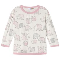 Joha Blouse w/long sleeves Elephant Elephant