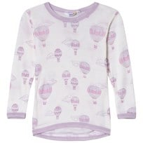 Joha Airballoon Print Blouse with Long Sleeves Airballon