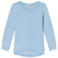 Joha Cerulean Long Sleeved Blouse Blue Cerulean Blue