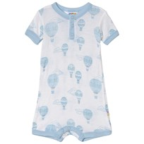 Joha Summersuit Airballon White and Blue Airballon