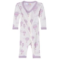 Joha Airballon Print Jumpsuit Pink and White Airballon