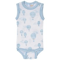 Joha Airballoon Print Sleeveless Body Blue and White Airballon