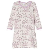 Joha Summer Garden Nightdress Pink and White Garden
