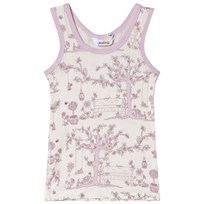 Joha Summer Garden Vest Pink and White Garden