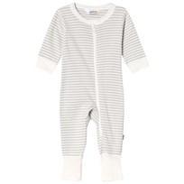 Joha Mini Stripe One-Piece Gray Mini Stripe