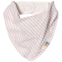 Joha Mini Stripe Bib Pink Mini Stripe