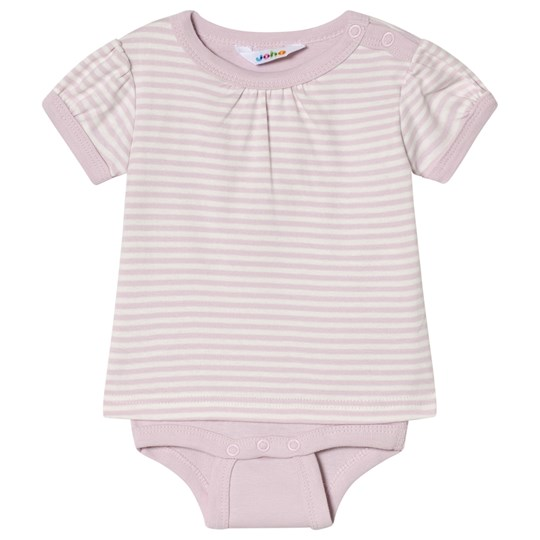 Joha Mini Randig Body med T-shirt-Ärmar Mini Stripe