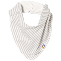 Joha Mini Stripe Bib Grey Mini Stripe