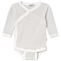 Joha Mini Stripe Wrap Around Body Grey Mini Stripe