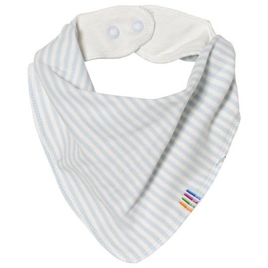 Joha Mini Stripe Bib Blue Mini Stripe