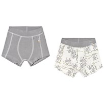Joha Monkey Print Set Of Two Boxer Shorts Monkey
