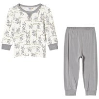 Joha Summer Monkey Print Pyjamas Set Monkey