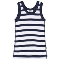 Joha Marine Stripe Vest Blue and White Marine stripe