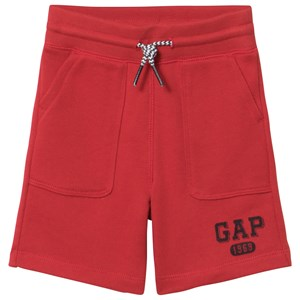 Image of GAP New Nordic Red Logo Shorts 2 år (2980468115)