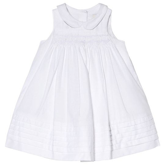 Cyrillus White Cotton Ceremony Dress 6349