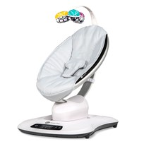 4moms MamaRoo4 Infant Seat Grey Classic Seat Black
